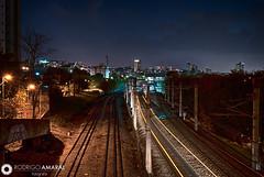 Metro de BH (rodcfa) Tags: longexposure night train metro traintracks nightshoot belohorizonte longaexposio
