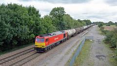 60100 at Stenson Junction (robmcrorie) Tags: train rail railway loco trains junction class locomotive enthusiast lindsey railways railfan 60 kingsbury dbs stenson ews 60100 6m57