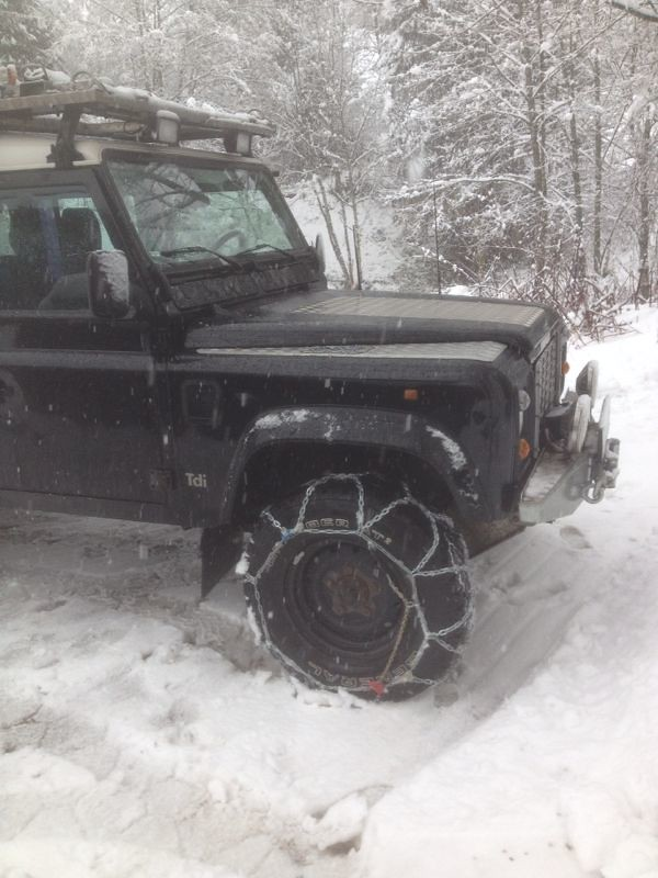 The World S Best Photos Of Landroverdefender And Snow