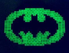 To the Batmobile! (Joel.Baker) Tags: light glow baker lego joel glowinthedark batman legoland batsignal