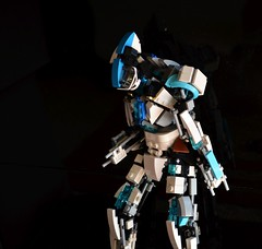 Serigant -prototype- (qu) Tags: white japan robot lego mechanical artificial creation intelligence prototype future scifi ai mecha humanoid mech moc