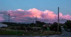 Reflections in pink (allybeag) Tags: sunset windturbine workington westcumbria flimby