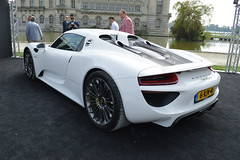 2014_09_Concours_Chantilly_Porsche_918_Spyder_2 (Daawheel) Tags: france car vintage spyder porsche hybrid concours chantilly elegance 918