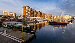 Portishead, England (technodean2000) Tags: uk england marina docks bristol boats nikon portishead lightroom d5200