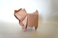 Cerdo BP - Nguyen Hung Cuong (Juanfran Carrillo) Tags: pig sevilla origami paperfolding papiroflexia hung nguyen cuong cerdo