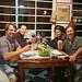 Jantar na casa dos amigos Yguaçu e Silvia