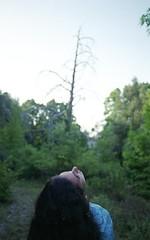 (Matteo-Palmieri) Tags: sunset portrait tree green girl landscape head hipster indie matteo palmieri