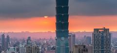 101 (JIMI_lin) Tags: sunset 101 taipei