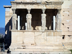 South porch, the Erechtheion (replica Caryatids)