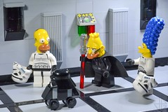 """I think he's getting too old for this"" (Greg 50) Tags: old starwars lego simpsons homer thesimpsons marge deathstar"