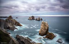 Los Urros (Legi.) Tags: longexposure seascape landscape nikon vr cantabria largaexposicin d600 liencres 2485mm urros