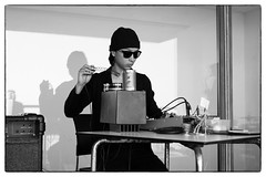 III - Dear Serge/Cafe Oto @ De La Warr Pavilion, Bexhill-on-sea, 14th September 2014 (fabiolug) Tags: leica blackandwhite bw music monochrome zeiss drums 50mm blackwhite concert experimental terrace live gig livemusic performance rangefinder electronics installation sound monochrom sax eastsussex saxophone feedback biancoenero performances avantgarde installations sonnar altosaxophone altosax bexhill bexhillonsea delawarrpavilion leicam zeisssonnar 50mmf15 seymourwright paulabbott sonnar50mm cafeoto zeisscsonnar zeisszm50mmf15csonnar daichiyoshikawa dearserge mmonochrom leicammonochrom leicamonochrom zeisscsonnartf1550mmzm iii