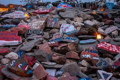 Gretna_cairn_673 (allybeag) Tags: england scotland stones gretna referendum beacon cairn handsacrosstheborder