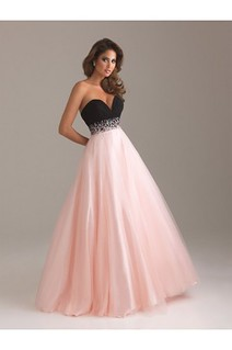 Charming Sweetheart Black Pink Plus Size Prom Dresses Wholesale Store