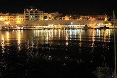 Es Castell night time 4 (Steve Dawson.) Tags: holiday night canon boats is spain mediterranean harbour september espana usm ef28135mm 8th menorca minorca 2014 balearicislands escastell f3556 50d ef28135mmf3556isusm canoneos50d spainishislands