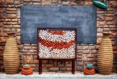 Equal…[Explored] (Daniela 59) Tags: 100xthe2017edition 100x2017 image18100 theworldaroundme y vase flowerpot plants pebbles board symmetry allthingsbeingequal wall stonework danielaruppel