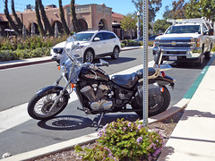 Shadow Motorcycle 3-8-17 (Photo Nut 2011) Tags: california shadow motorcycle libertystation sandiego pointloma chevy chevrolet mazda