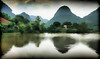 Hotel's Lake View Impression (Neville Wootton Photography) Tags: holidays impressions karst lakescapes mangojouneys ninhbinh tamcoc tamcocgardenhotel topazlabs vietnam