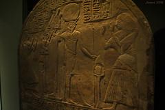 Horus (Javiera C) Tags: chile santiago egipto egypt hieroglyph jeroglíficos ancient antiguo museo museum exhibición exhibition stone piedra horus