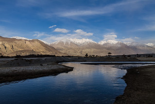 Evening at Nubra Valley, Ladakh, India