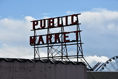 Pike Place Market (Adventurer Dustin Holmes) Tags: 2017 seattle seattlewa seattlewashington sign publicmarket pikeplacemarket