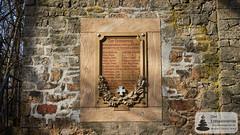 Gedenktafel: Aussichtsturm auf der Hemm bei Lonsheim