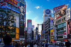 Shibuya (Dakiny) Tags: 2017 spring march japan night tokyo shibuya dogenzaka city street shibuya109 109 people landscapenikon d7000 sigma 1770mm f284 dc macro os hsm sigma1770mmf284dcmacrooshsm nikonclubit