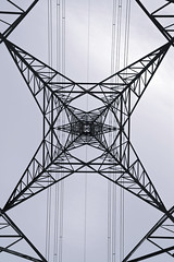 Pylon fractals... (Sean Hartwell Photography) Tags: pylon fractal geometry shapes electricity powerstation power wanstead abstract square london lines line