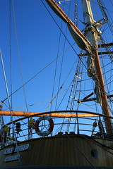 MRP_8202 (preedyphotos) Tags: bristol parkstreet millenniumsquare boats sailing ships rigging shoesshoetree collegegreen daffodills padlocks statues art martinpreedy canon eos1dx