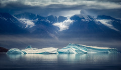Ice. Berg. (hpd-fotografy) Tags: arctic greenland scandinavia scoresbysound scoresbysund adventure clouds cold cruise dramatic ice iceberg landscape light mountain north sailing sea seascape travel water