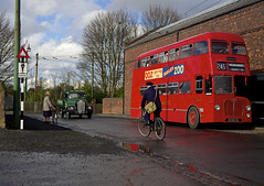 'Black Country I' (andrew_@oxford) Tags: black country living history museum midland red bus stop reenactment reenactors timeline events