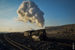 Old steam ... (N.Batkhurel) Tags: steamlocomotive locomotive sandaoling xinjiang china coalmine railway railfan trains trainspotting train travel ngc nikon nikondf