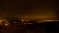 Light pollution (docteurTonTon) Tags: night photography village france light pollution lumière tesson thomas paysage landscape