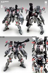 reF-X03 Mosbach (Messymaru) Tags: lego moc mech mecha robot レゴ レゴロボ メカ mechwars reframe original messymaru