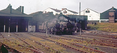 R1759.  Watford Shed (1C). 26th July, 1964. (Ron Fisher) Tags: engineshed locoshed mpd steam steamlocomotive steamengine dampflok locomotive locomotiveàvapeur lms londonmidlandscottishrailway londonmidlandregion rail railway railroad eisenbahn chemindefer uksteam 1c watfordshed
