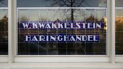 Kwakkelstein (Tim Boric) Tags: kwakkelstein haringhandel vlaardingen letters lettering typografie typography glasinlood leadedglass