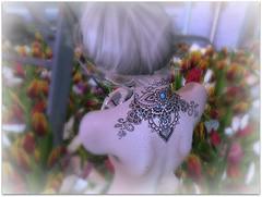 Skin Deep (Abi Latzo) Tags: white~widow ink tattoo avatar blackfair2017 maitreya avatars secondlife sl shopping events