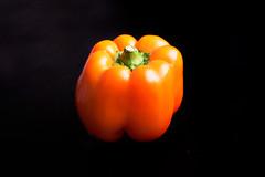 036/365 - 2017 (amarie365) Tags: day36 365project 36365 pepper food orange black windowlight orangepepper blacktable
