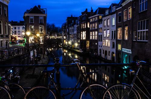 Blue Hour on the Oudegracht