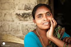 IMG_9345 (cishore™) Tags: blue portrait india women 85mm farmer cishore kishore adilabad nagarigari gondtribes