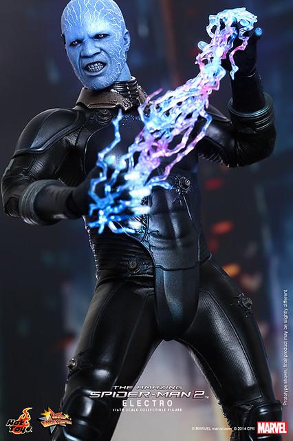 Hot Toys – MMS246 – 《蜘蛛人驚奇再起2:電光之戰》1/6比例電光人