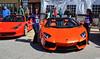 Lamborghini Aventador (Chad Horwedel) Tags: girls orange illinois women models exotic import lamborghini sportscar lambo bolingbrook supercarsaturday promenademall aventador lamborghiniaventador