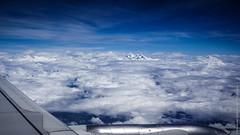 Вид на Эверест с самолёта