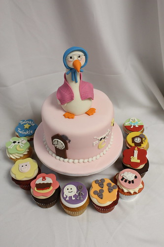 Mother Goose Nursery Rhymes Cupcakes