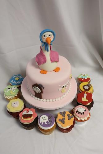 Mother Goose Nursery Rhymes Cupcakes