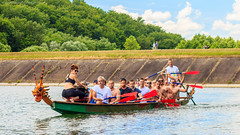 Kayak canoe and Dragon boat race