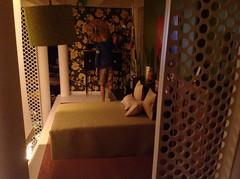 Bedroom. (JayCatt2220-ONESIXFURNITURE) Tags: miniature doll furniture blythe fashiondoll interiordesign diorama dollhouse midcenturymodern accessory mcm homedesign contemporarydesign fashionroyalty 16scale barbiefurniture sixthscale handmadefurniture playscale monsterhigh onesixfurniture