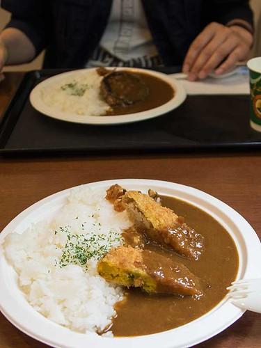 コロッケカレー(円山動物園)