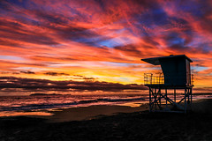 Pacific Sunset (davecurry8) Tags: ocean sunset beach mexico pacific playa bajacalifornia playarosarito