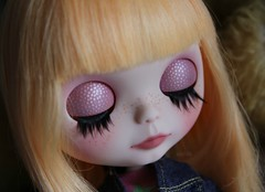 Jessie's eyelids detail :)